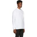 Martine Rose White Sweats Funnel Neck T-Shirt