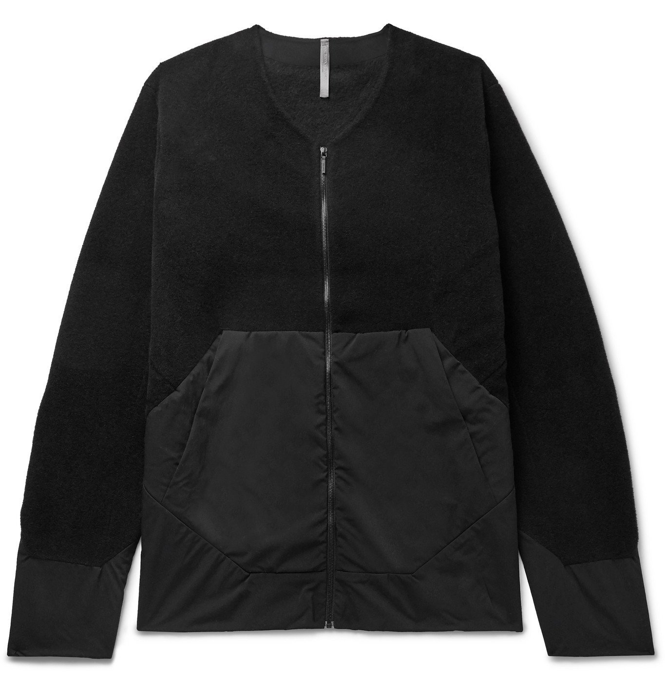 Photo: Veilance - Dinitz Comp Fleece and Stretch-Nylon Jacket - Black
