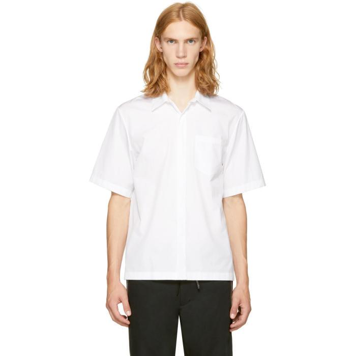 3.1 Phillip Lim White Box Cut Shirt