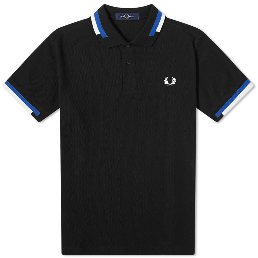 Photo: Fred Perry Abstract Tipped Polo
