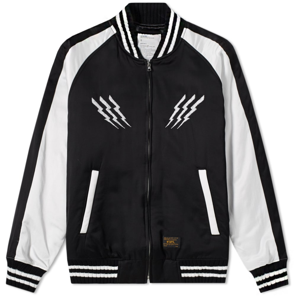 Photo: WTAPS Satin Jacket Black