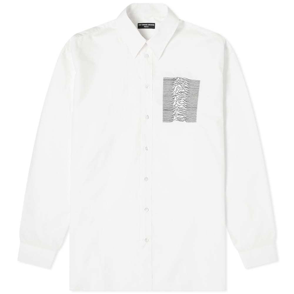 Photo: Raf Simons Joy Division Embroidery Shirt