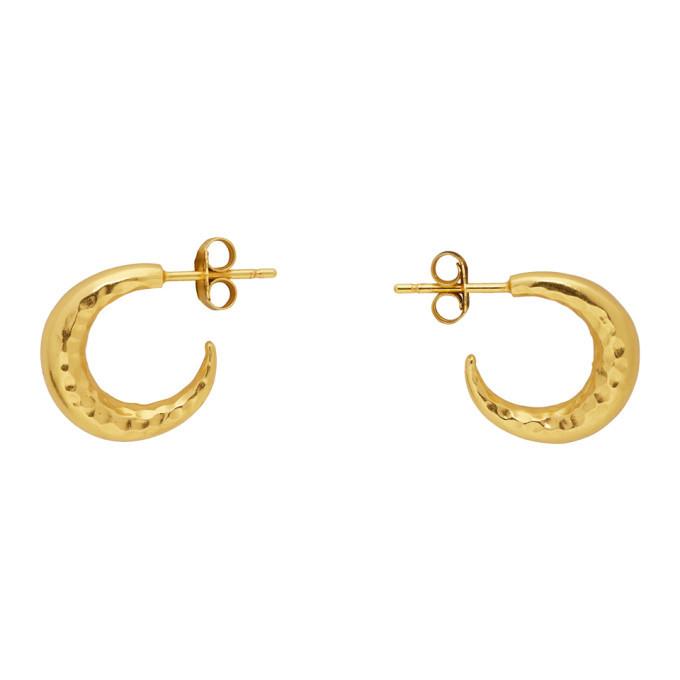 Photo: Dear Letterman Gold Malakyi Earrings