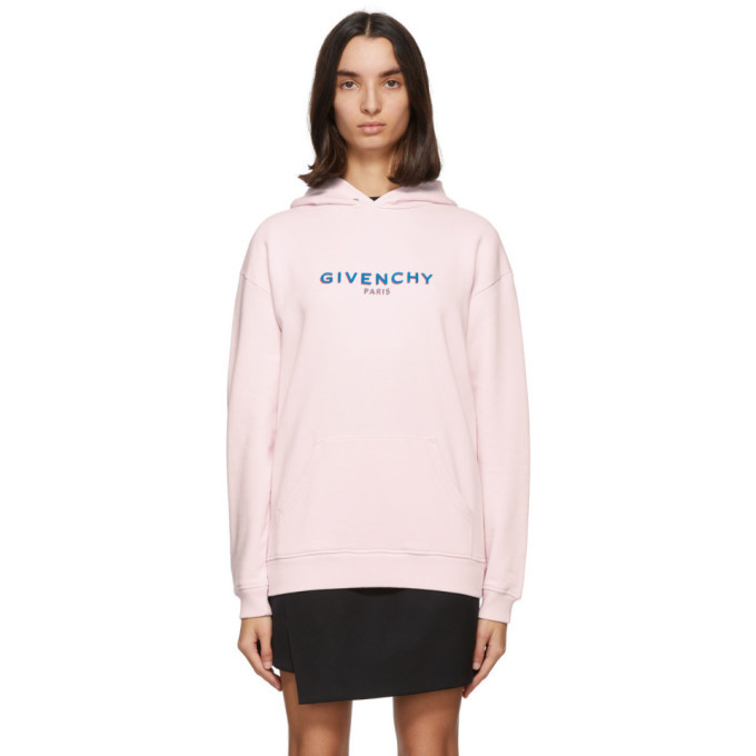 Photo: Givenchy Pink Logo Hoodie