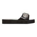 3.1 Phillip Lim Black Eva Watch Strap Sandals