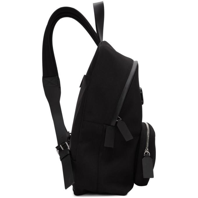 Valentino Black Valentino Garavani VLogo Backpack