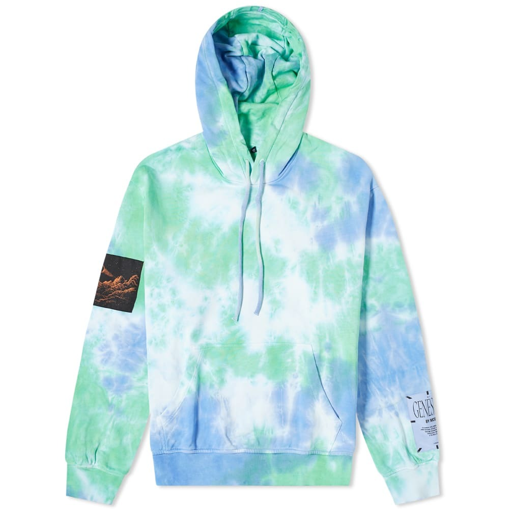 Photo: MCQ Relaxed Fit Tie Dye Pop Over Hoody