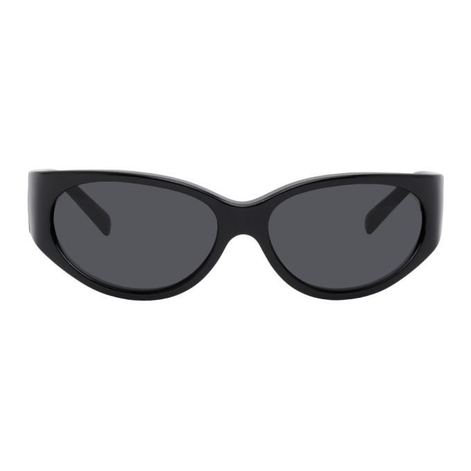Photo: Versace Black Wrap Around Sunglasses
