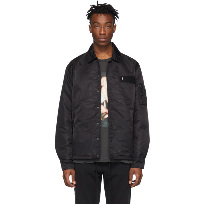 Ksubi Black Opposite Coach Jacket