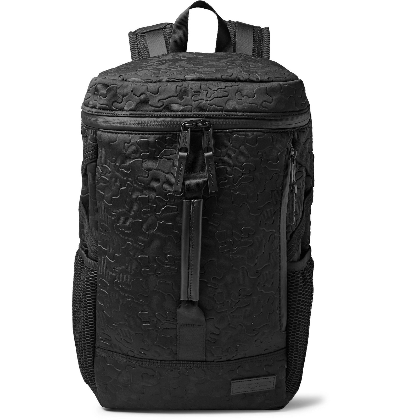 Photo: Eastpak - Bust Embossed Neoprene Backpack - Black