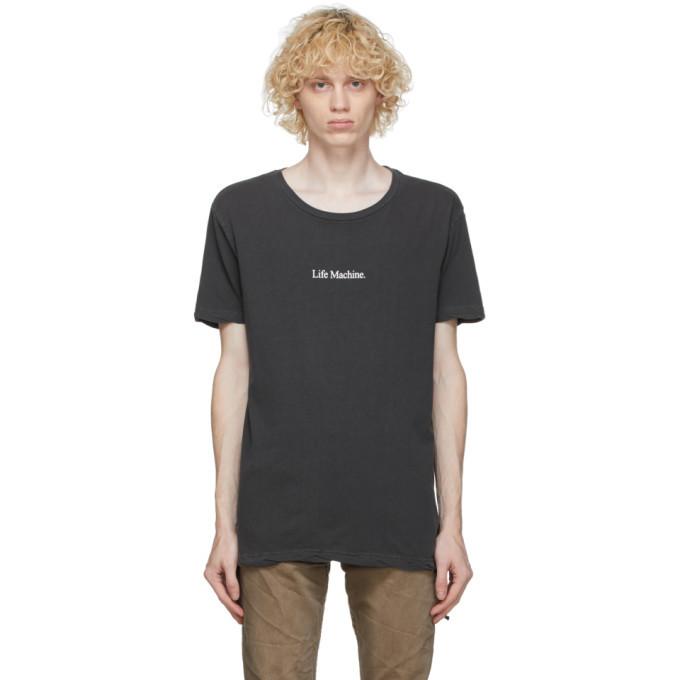 Ksubi Black Life Machine T-Shirt