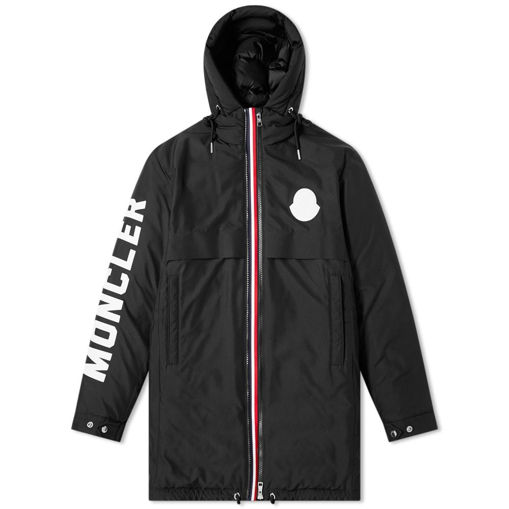Photo: Moncler Charnier Logo Printed Down Filled Parka
