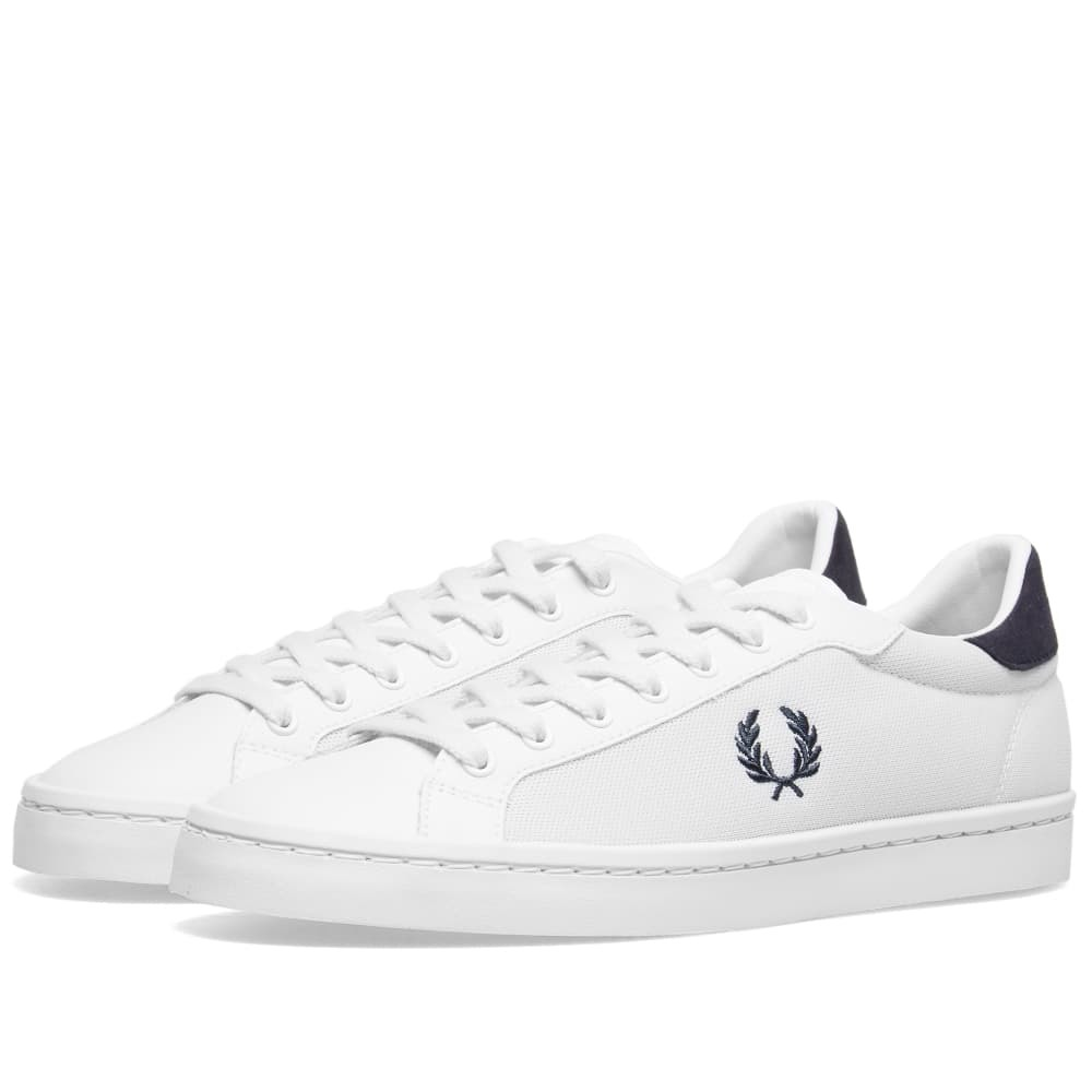 Fred Perry Lawn Leather Mesh Sneaker