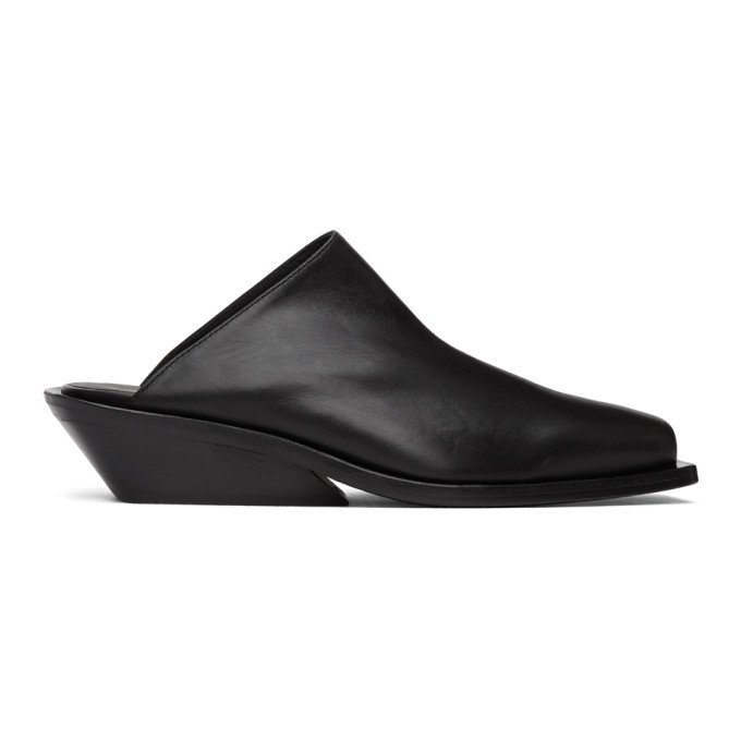 Photo: Ann Demeulemeester Black Crust Loafers