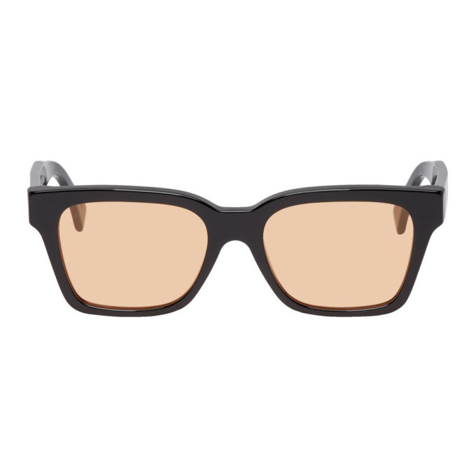 Photo: Super Black and Orange America Sunglasses