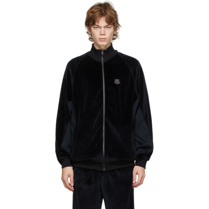 Photo: Kenzo Black Oversize Track Jacket