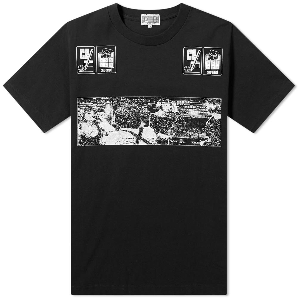 Photo: Cav Empt Note Down Tee Black
