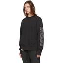 Ksubi Black Disposable Decon Sweatshirt