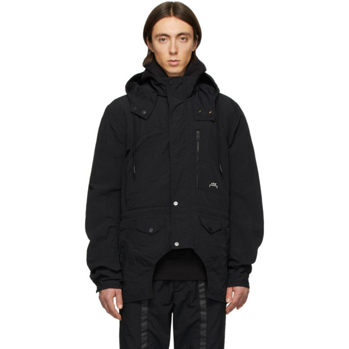 Photo: Diesel Red Tag Black A-Cold-Wall* Edition Overdyed Cut-Out Jacket