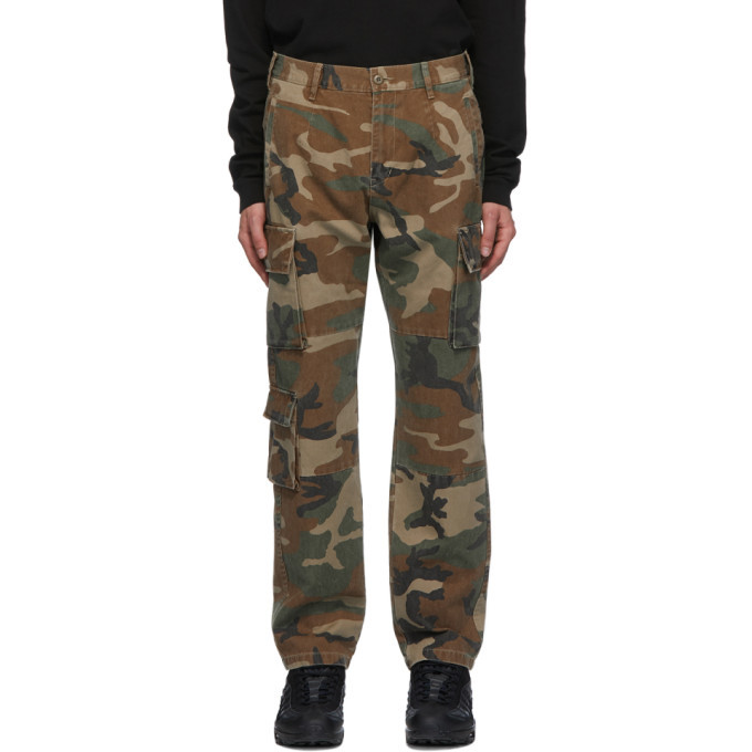 Photo: John Elliott Green Utility Cargo Pants