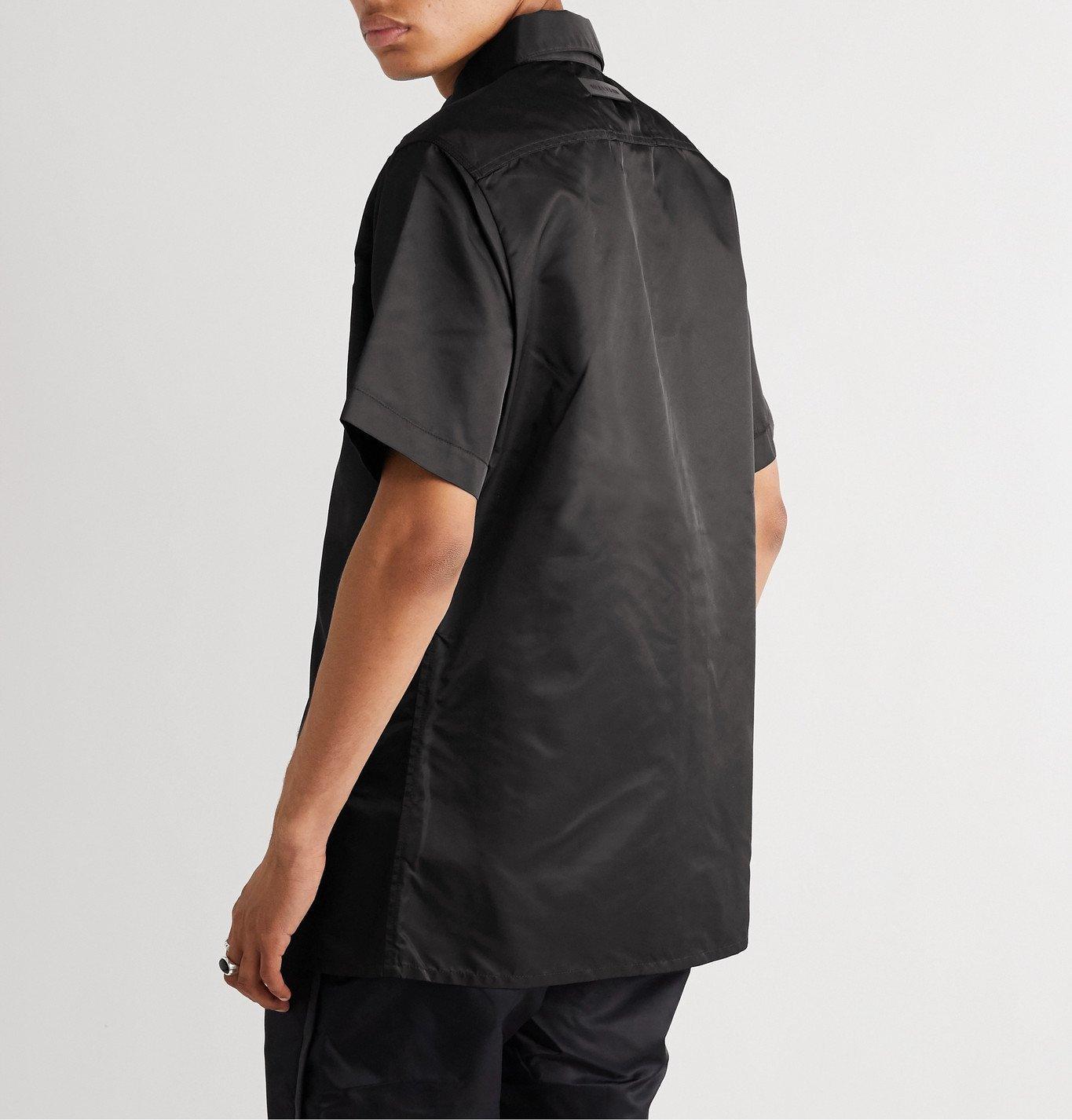 1017 ALYX 9SM - Buckle-Detailed Nylon Shirt - Black