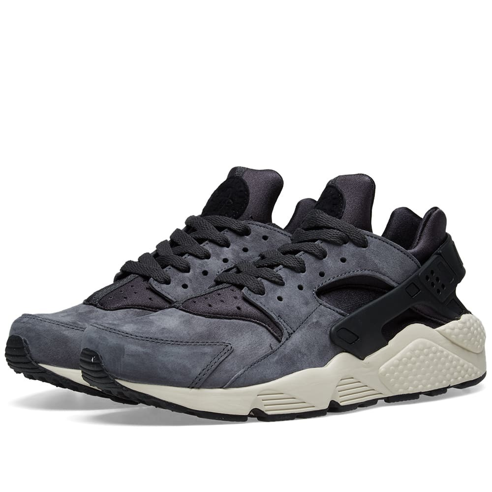 Nike Air Huarache Run Premium Anthracite, Black \u0026 Light Bone