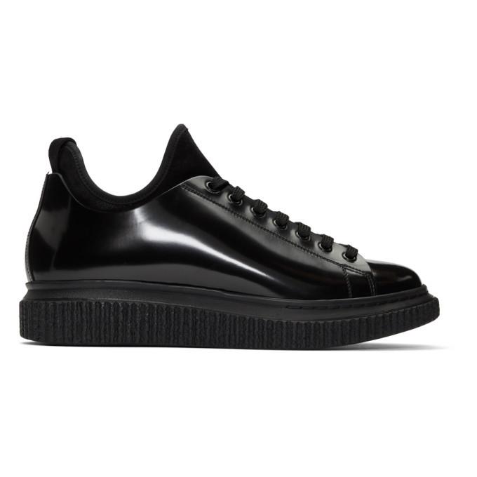 Photo: Officine Creative Black Krace 10 Sneakers