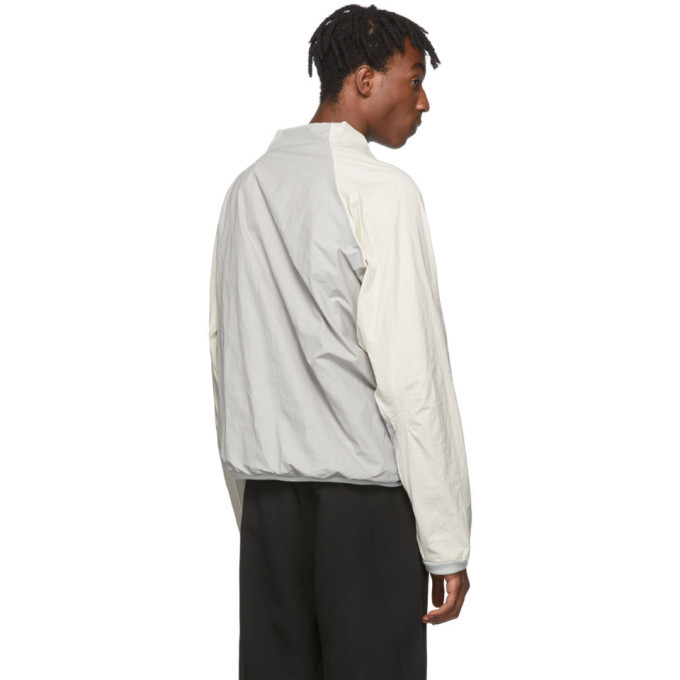Post Archive Faction PAF Off-White and Grey 2.0 Center Jacket