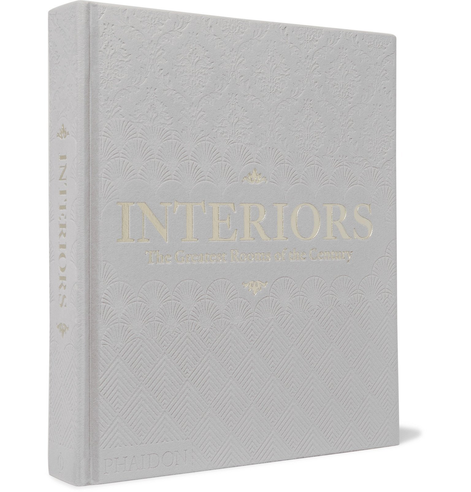 Photo: Phaidon - Interiors: The Greatest Rooms of the Century Hardcover Book - Gray
