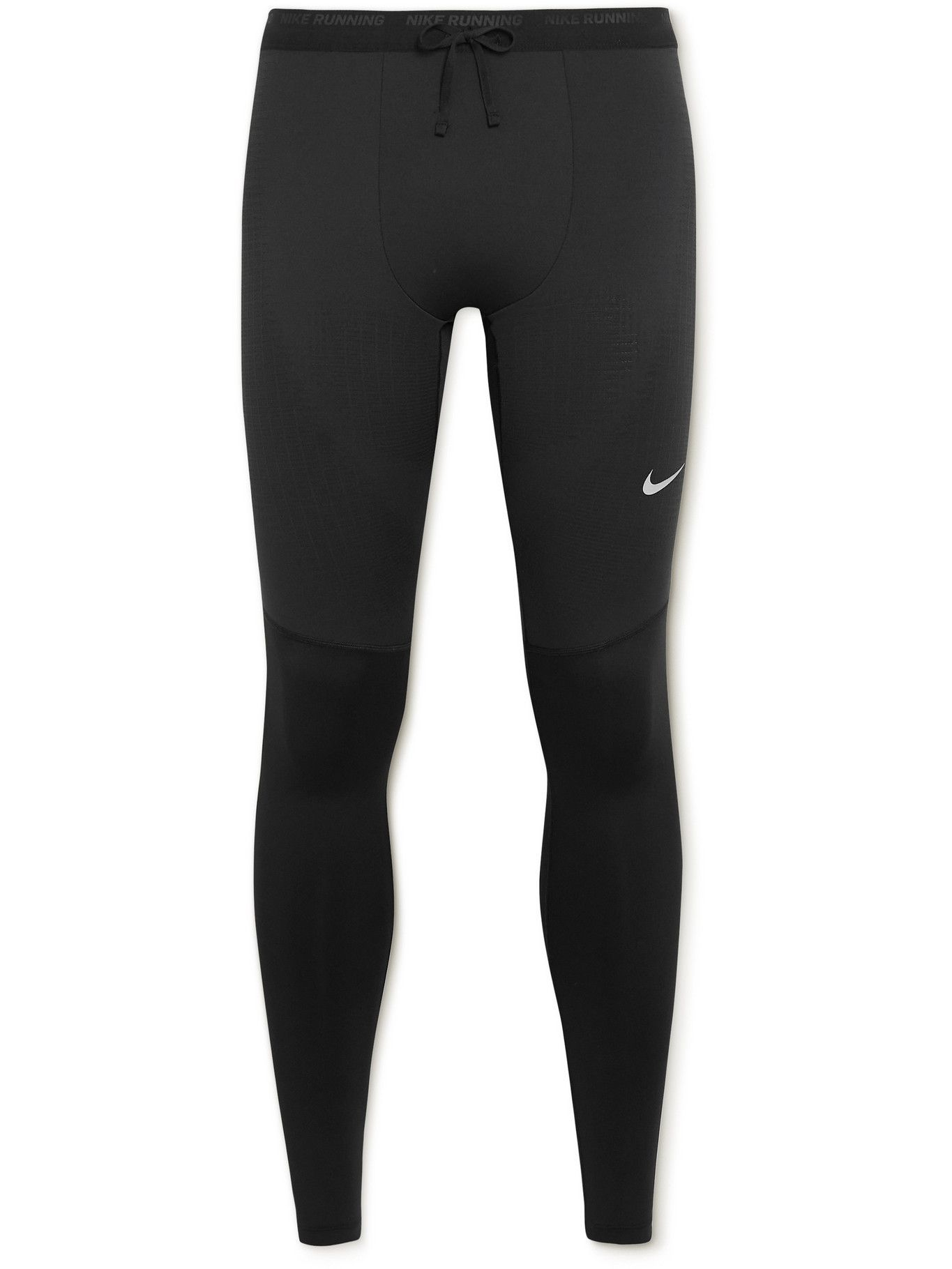 NIKE RUNNING - Phenom Elite Stretch-Jersey Tights - Black