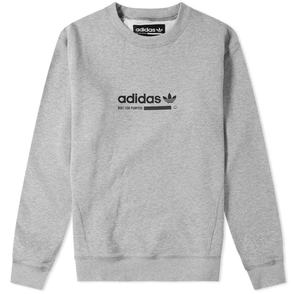 Adidas Kaval Crew Sweat Grey