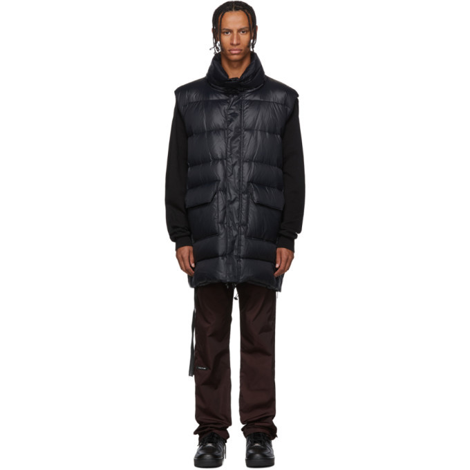Photo: Unravel Black Nylon Shiny Open Back Vest