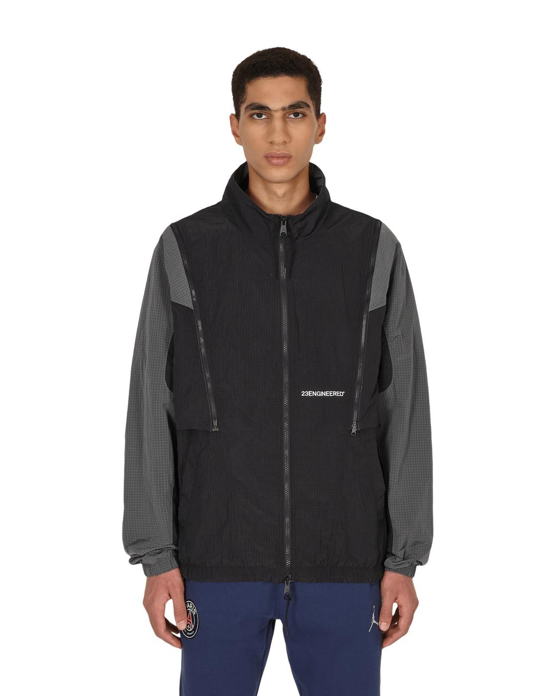 Photo: Nike Jordan 23 Engineered Woven Jacket Black/Iron Grey