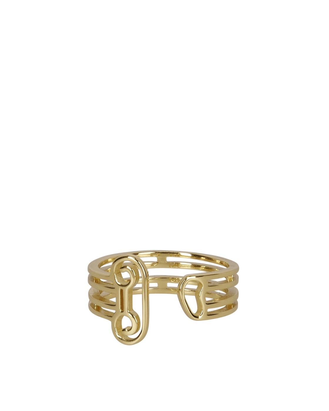 Photo: Aries Column Ring Silver/Gold