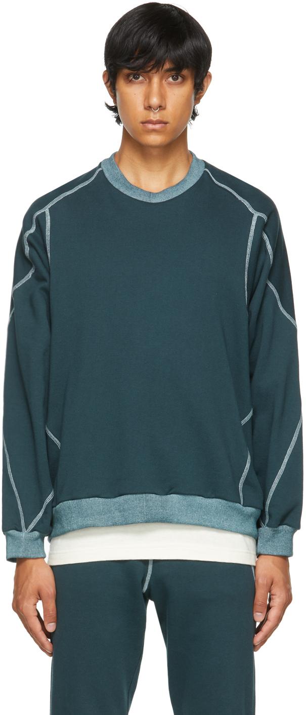 Photo: Saul Nash Blue Kinetic Sweatshirt