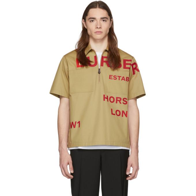 Photo: Burberry Beige Military Shirt