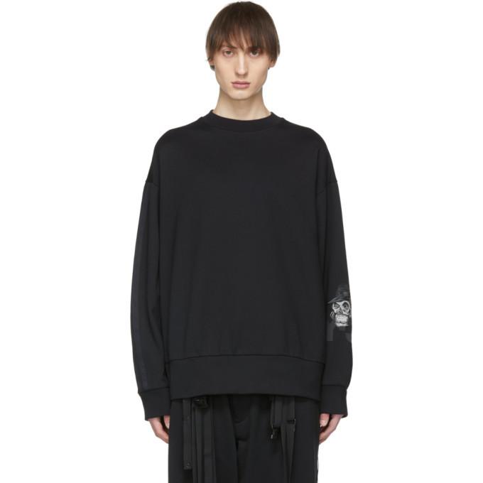 Y-3 Black Yohji Skull Sweatshirt