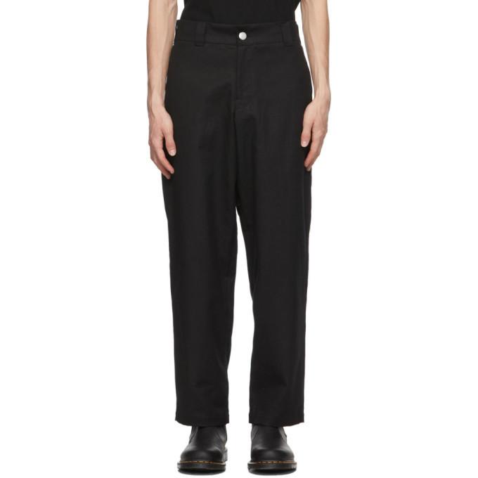 EDEN power corp Black Vort Trousers