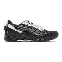GmbH Black and Grey Asics Edition GEL-Quantum 360-6 Low-Top Sneakers