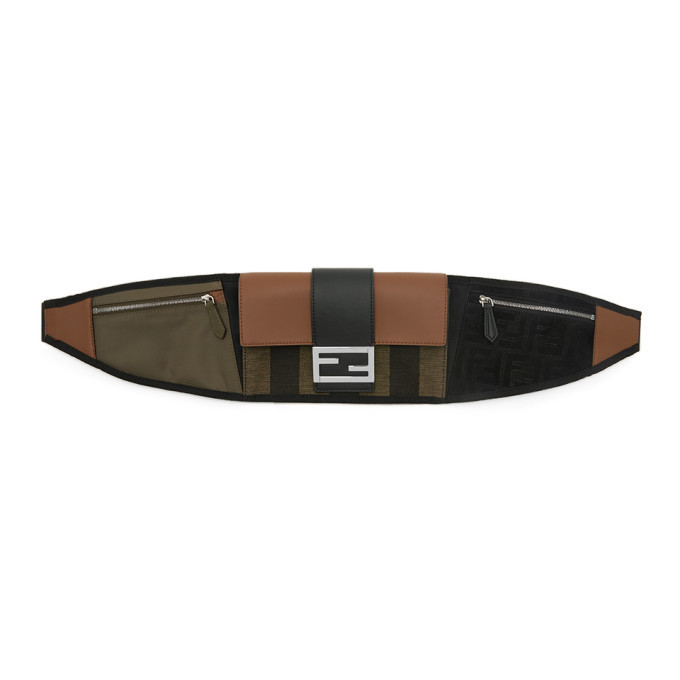 Photo: Fendi Black Forever Fendi Baguette Belt Bag