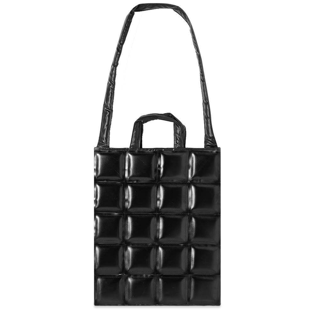 Photo: Comme des Garcons Black Patchwork Shoulder Bag