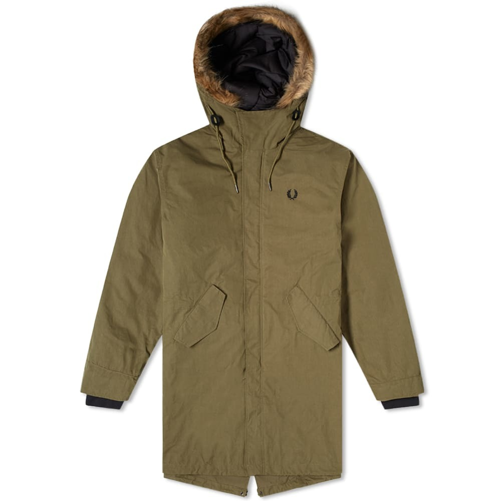 Photo: Fred Perry Authentic Zip Primaloft Lined Parka