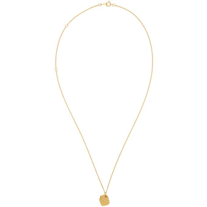 Alighieri Gold The Alchemist Necklace