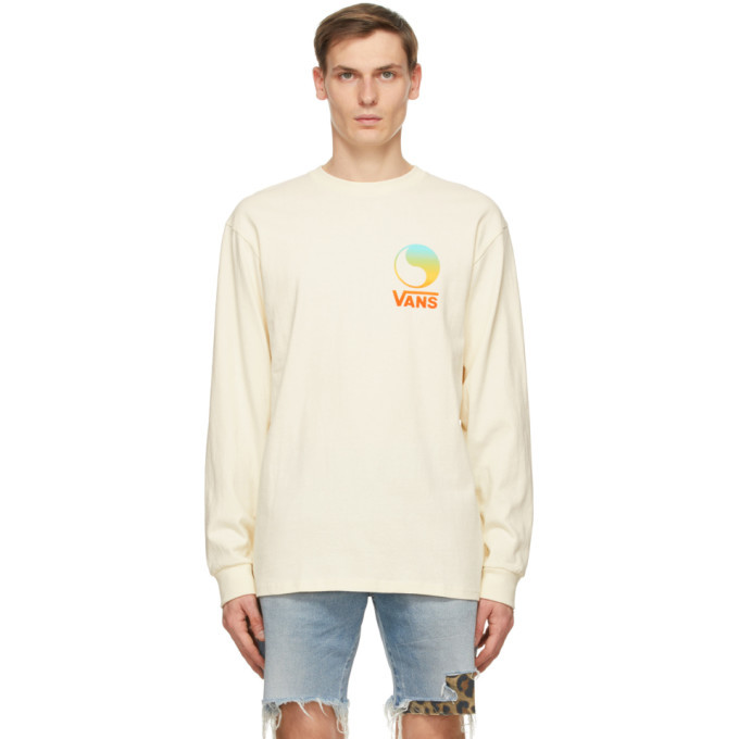 Photo: Vans Off-White Free and Easy Edition Logo Long Sleeve T-Shirt