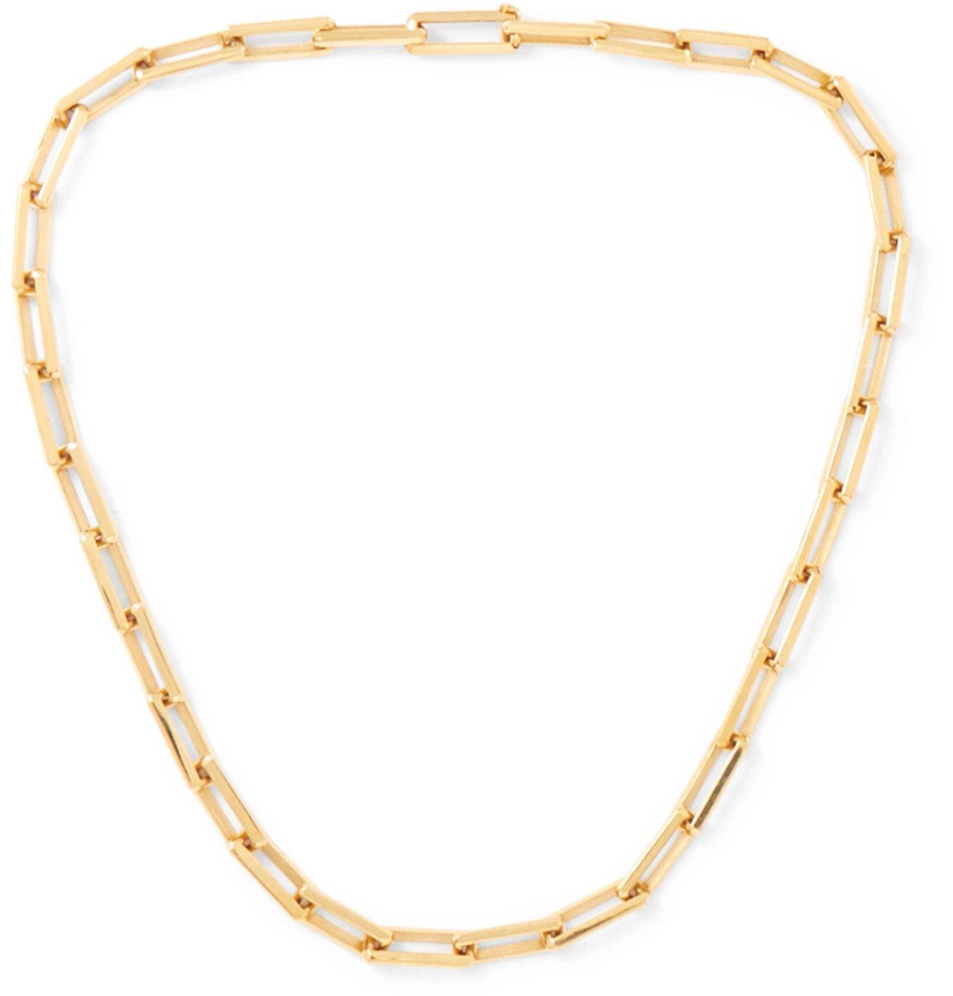 Photo: Luis Morais - 14-Karat Gold Necklace - Gold