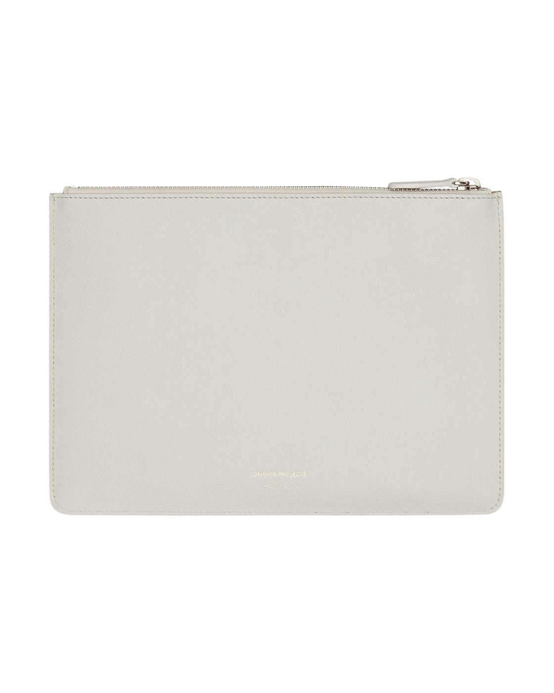 Photo: Common Projects Small Folio Saffiano Leather Wallet Off White