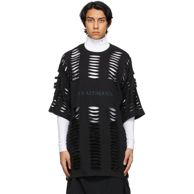 Raf Simons Black Peter De Potter Edition Flux Aetherium T-Shirt