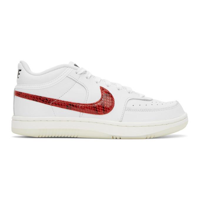 Photo: Nike White Sky Force 3/4 Sneakers