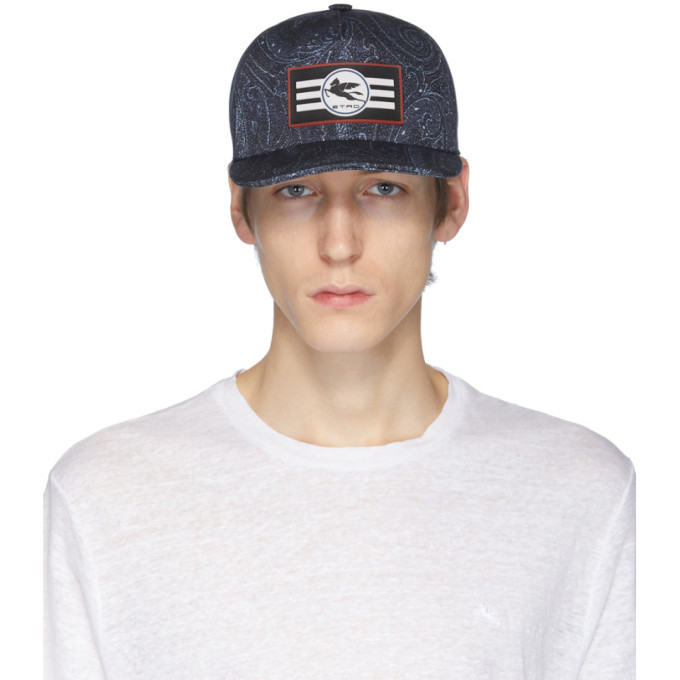 Photo: Etro Navy Neutra Cap