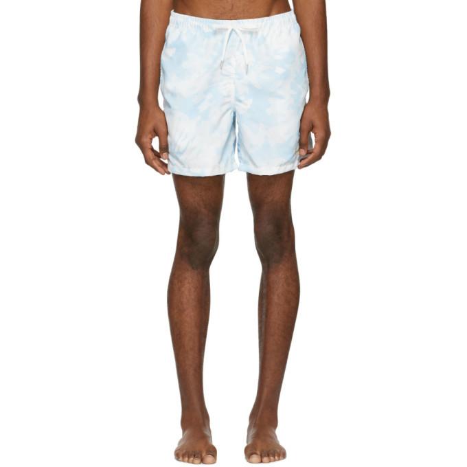 Photo: Bather Blue Tie-Dye Swim Shorts